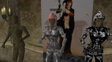 "Morrowind ""Легкая женская броня для наемных убийц"""