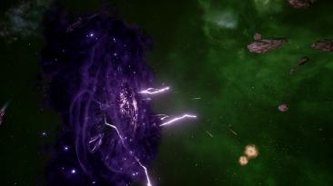 пара минут игры в Battlefleet Gothic Armada