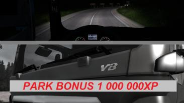Euro Truck Simulator 2: Чит-Мод/Cheat-Mode (1 000 000 денег + 1 000 000 XP бонус за парковку v1.01 / 1 000 000 Start Money + 1 000 000 XP Park Bonus v1.01) [1.24]