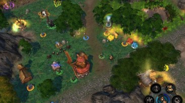 "Heroes Of Might And Magic 5: Повелитель орды ""Карта - Precious Land"""