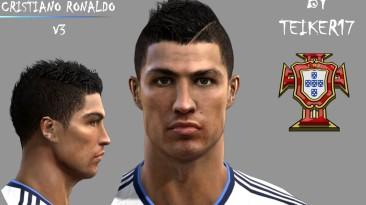 "PES 2012 ""Cristiano Ronaldo Face by Teiker17 """