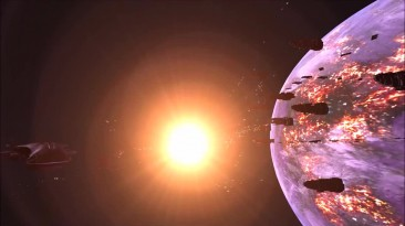 "Homeworld 2 - Halo mod ""Homefront"" trailer"