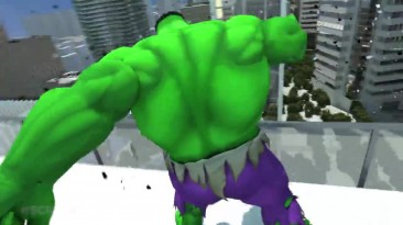 "Injustice: Gods Among Us ""Hulk vs. Doomsday. Бой насмерть!"""