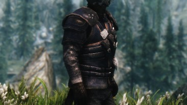 "Elder Scrolls 5: Skyrim SE ""Ретекстур брони Гильдии Воров / Thieves Guild Armor HD revival"""