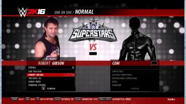 WWE 2k16 Robert Gibson - порт из wwe 2k19