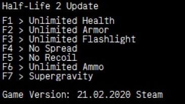 Half-Life 2: Трейнер/Trainer (+7) [Update] {LIRW / GHL}