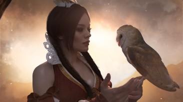 Косплей Филиппы Эйльхарт из The Witcher 2: Assassins of Kings