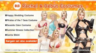Встречайте 17 декабря Rachel в Dead or Alive 6