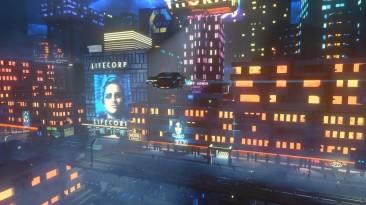 В киберпанковом приключении Cloudpunk появился вид от первого лица