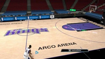 "NBA 2K10 ""Sacramento Kings Court"""