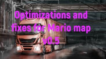 "Euro Truck Simulator 2 ""Оптимизация и исправления для карты Марио v0.5 (v1.39.х)"""