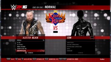 "WWE 2k16 ""Aleister Black рендеры"""