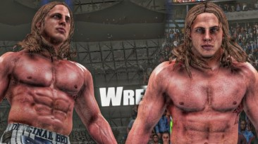 "WWE2K18 ""Мод MATT RIDDLE 2K20 Порт"""
