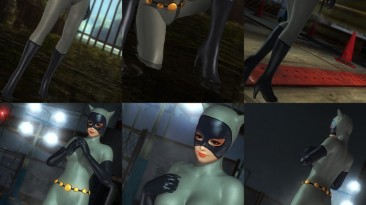 """Dead or Alive 5: Last Round """"CATWOMAN CLASSIC DC MOD"""""""