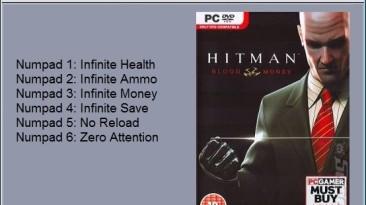 Hitman - Blood Money: Трейнер/Trainer (+6) [1.0] {24K}