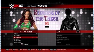 WWE 2k16 Peyton Royce 2к18, 19 финальный порт