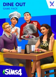 Обложка игры The Sims 4: Dine Out