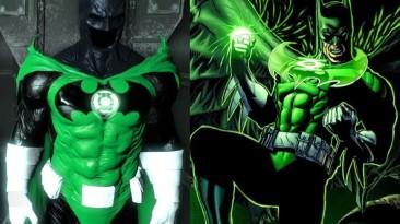 """Batman: Arkham Origins """"Skin - Batman Green Lantern"""""""