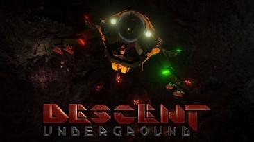 """Descent: Underground - очередное возрождение """"космической"""" классики на Kickstarter"""
