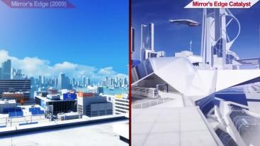 Сравнение Mirror's Edge (2009) VS Mirror's Edge Catalyst (2016) | на ультра настройках