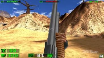 Геймплей Serious Sam в 4К