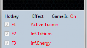 Ancient Space: Трейнер/Trainer (+4) [1.0] {MrAntiFun}