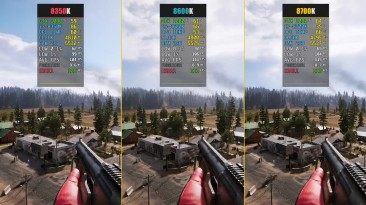 Far Cry 5 - i3 vs. i5 vs. i7 Coffee Lake (CPU Benchmark)