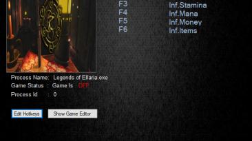 Legends of Ellaria: Трейнер/Trainer (+5) [v0.5.42.02] {MrAntiFun}