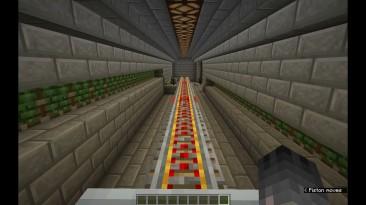 Игрок в Minecraft создал железную дорогу, которая собирается автоматически
