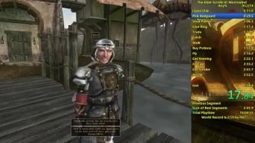 Morrowind и Oblivion прохождение за 3 минуты [Разбор мирового рекорда]