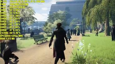 Assassins Creed Syndicate RX 570 4GB OC & RX 580 8GB OC | 1080p | Фреймрейт TEST