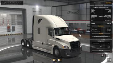 SCS Software. Новый Грузовик Freightliner Cascadia