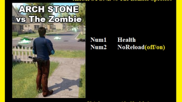 Arch Stone vs The Zombie Specters: Трейнер/Trainer (+2) [1.0] {Abolfazl.k}
