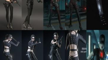 "Resident Evil 3 ""Jill Umbrella Tactical Assault suit"""