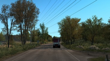 "Euro Truck Simulator 2 ""Spring Graphics/Weather v1.0 (1.37)"""
