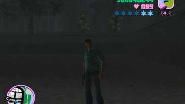 """Grand Theft Auto: Vice City """"Максимальный розыск полиции на выбор (VC) v.1.0"""""""