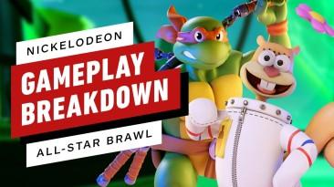 Трейлер и геймплейные ролики Nickelodeon All-Star Brawl с участием Котопса, Эйприл О'Нил, Леонардо, Патрика и других