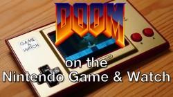 Doom покорила Nintendo Game & Watch