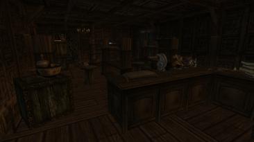"""Elder Scrolls 3: Morrowind """"Расширение лавки оружейника в Кальдере/Адаптация под коллекционера"""""""