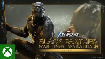 Вышло расширение Black Panther - War for Wakanda для Marvels Avengers