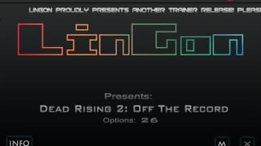 Dead Rising 2 - Off the Record: Трейнер (+26) [1.01] {LinGon}