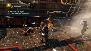 Assassin's Creed Глюки и Смешные моменты