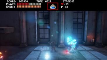 Обновленная версия фанатского ремейка Castlevania 1 на Unreal Engine 4 (+загрузка)