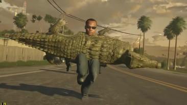 """Battlefield: Hardline """"Новое оружие батлы - Крокодил!!! [Прикол]"""""""