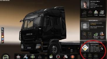 Euro Truck Simulator 2: Сохранение/SaveGame (Hачните Новую Игру с Миллионом)