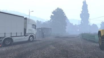 "Euro Truck Simulator 2 ""Реалистичный звук дождя, грома и столкновения v1.0 (1.40.x)"""