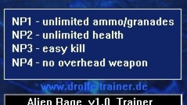 Alien Rage: Трейнер/Trainer (+4) [1.0] {dR.oLLe}