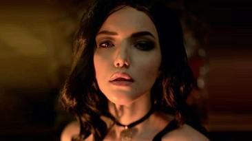 Косплей Йеннифэр из The Witcher 3