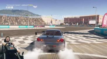 На пределе! - Nissan Skyline GTR R34 Брайана О'Коннера фул тюнинг Forza Horizon 2 Fast & Furious 2