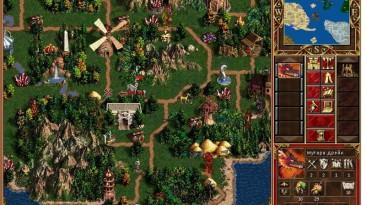 "Heroes of Might and Magic 3 ""Карта - Земля драконов"""